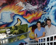 Timescapes: A Mural by NWSA Students at the Sagamore Hotel