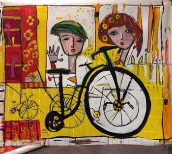 ARTCYCLE: Bikes Become Art - Astolfo Funes.