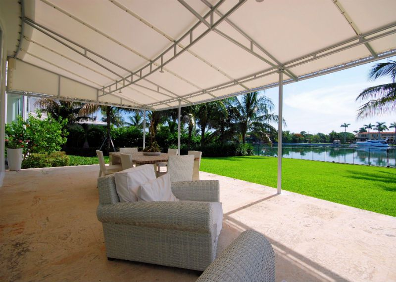 Residential Awnings Amp Canopies Miami Awning Company