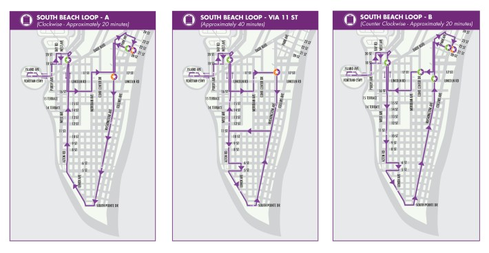 south beach trolley | city of miami beach