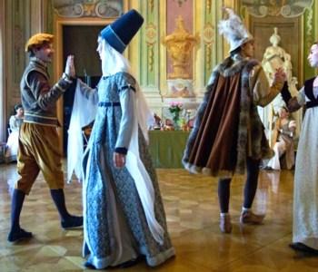 Serata danzante costume rinascimentale
