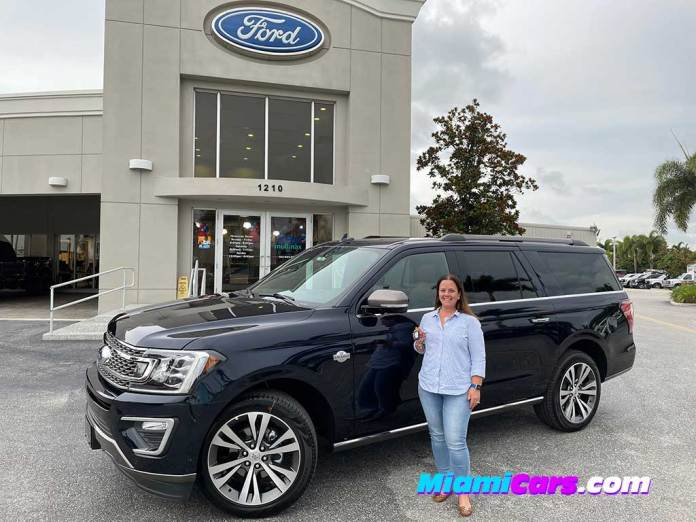 2021 Ford Expedition King Ranch at Mullinax Ford
