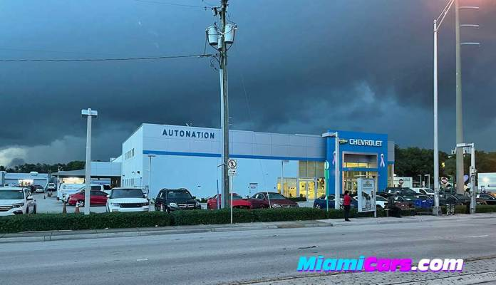 Autonation Chevrolet of Coral Gables on Calle Ocho and LeJeune Road