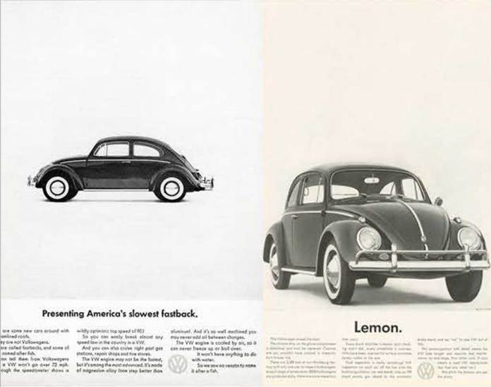 VW Beetle Ad Campaign