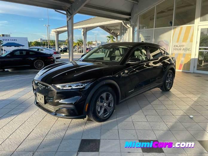 Mustang Mach E at Autonation Ford Miami
