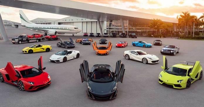 MPH Club Luxury Car Rentals Miami
