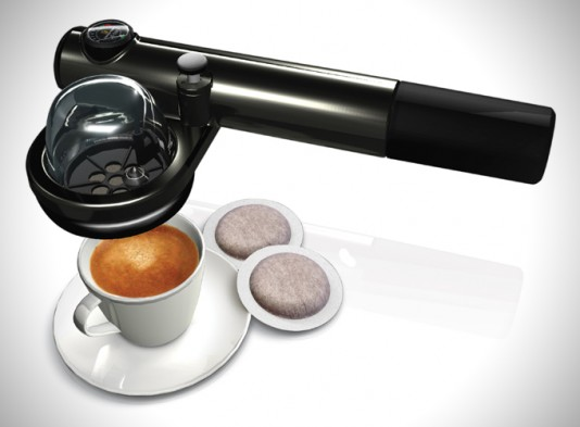 Handpresso Wild Hybrid in black, silver or white