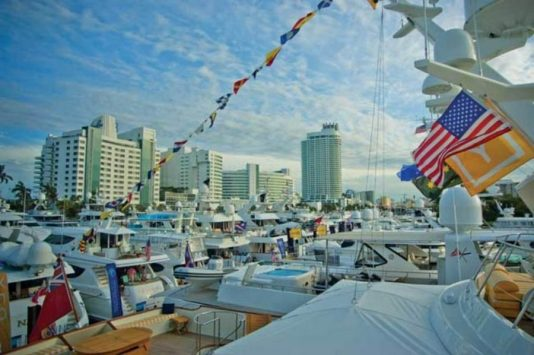 miami yacht show 2018, miami events february, yachting miami, MiamiCurated