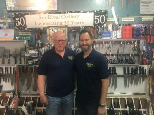 knife sharpening Miami, Sin Rival Cutlery, MiamiCurated