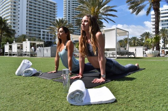 Fontainebleau Miami, things to do Miami, yoga Miami, MiamiCurated