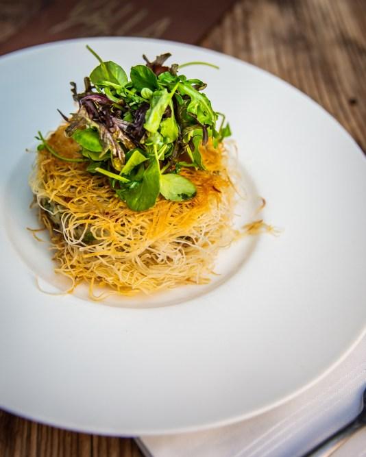 cauliflower crabcake villa azur, villa azur miami, MiamiCurated