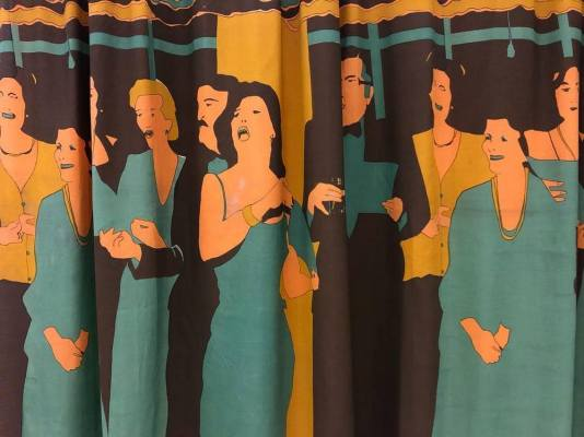 Tapestry as social satire, Beatriz Gonzalez PAMM