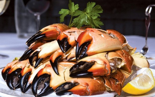 all you can eat stone crabs miami, stone crabs miami, miamicurated, Truluck's Miami