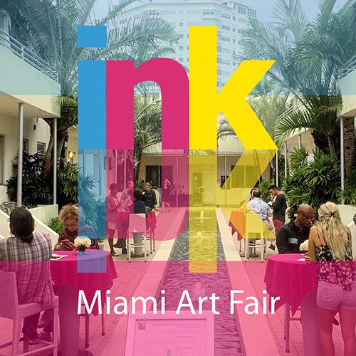 INK print fair Miami, INK art basel miami 2019, MiamiCurated