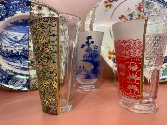 coconut grove stores, collage drinking glasses from The Bazaar Project, MiamiCurated