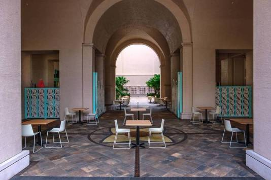 outdoor dining in coral gables, miamicurated