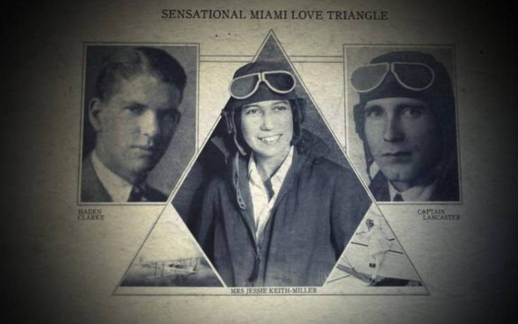 aviators love triangle photos of chubby miller, bill and haden