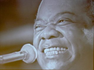 Louis Armstrong performing in the 1960's