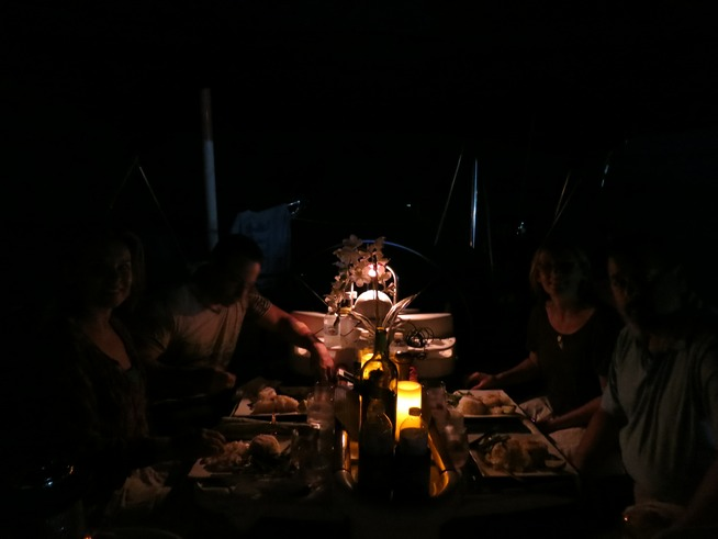 Candlelight Dinner Luxury Dining On Sail Boat In Miami