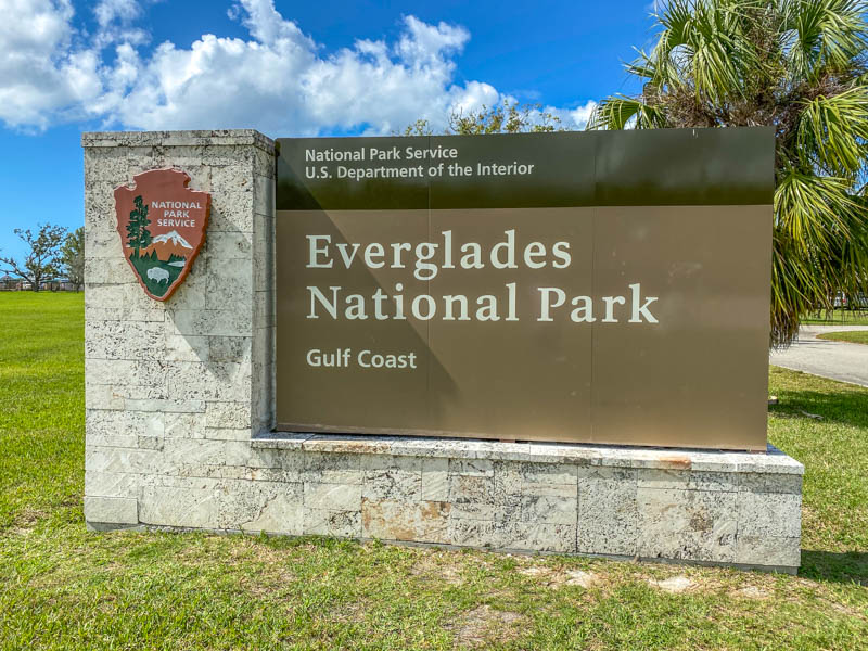 Everglades bord Gulf Coast