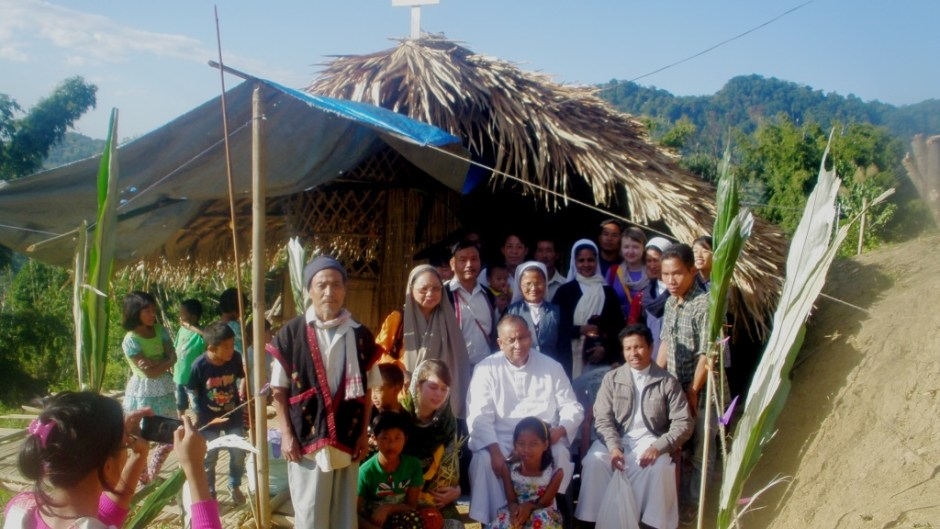 New Church Blessed in Deomali Parish