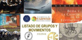 Listado de Grupos y Movimientos
