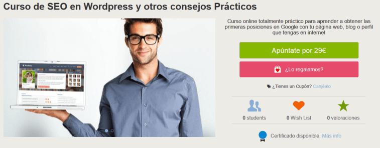curso gratis de SEO en WordPress