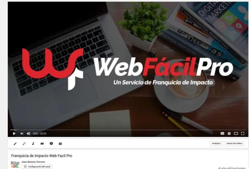 Franquicia de Impacto Web Facil Pro