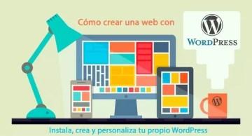 Diseñar una web usando WordPress