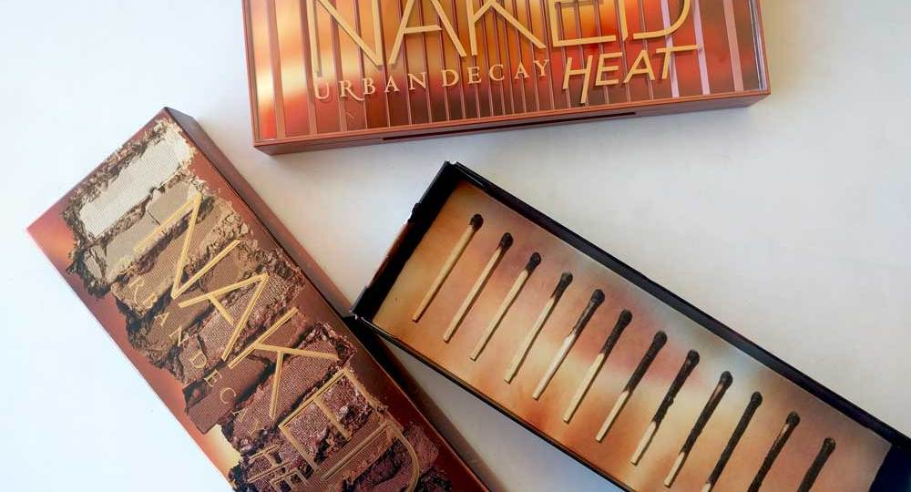 #NewIn Naked Heat by Urban Decay