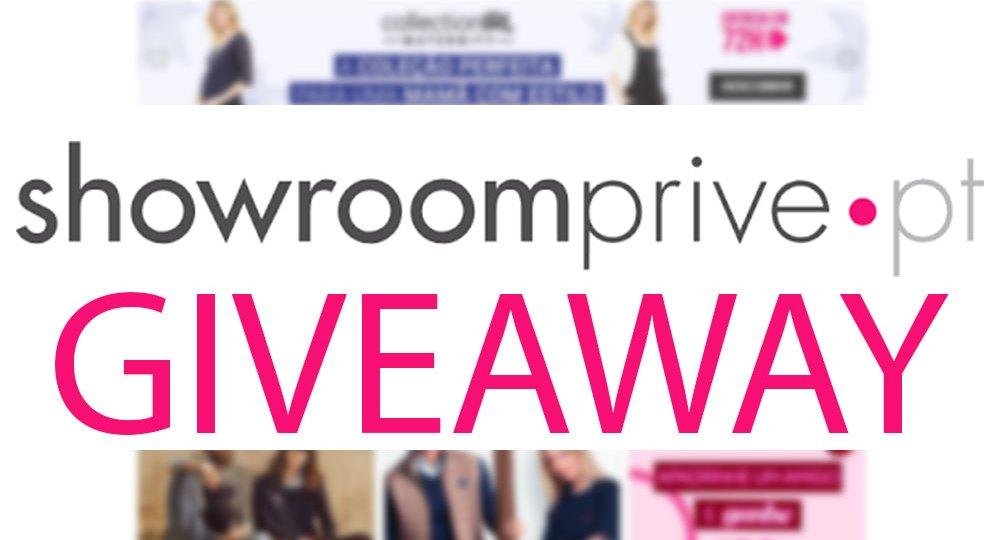 #Giveaway 5 Códigos de Desconto Showroomprive.pt