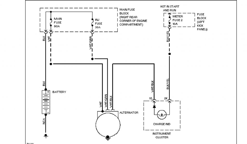 NB alternator into NA, does this seem right?  Miata Turbo