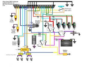 Standalone 16 Wiring Diagram  Schematic  Miata Turbo