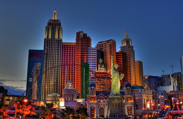 New York, New York Hotel, Las Vegas!