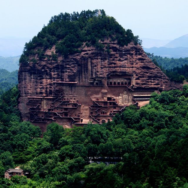 Maijishan Caves, Tianshui, China