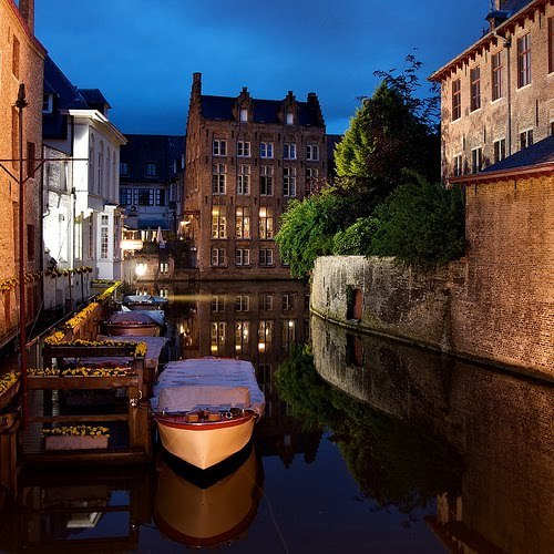 Late Night, Bruges, Belgium