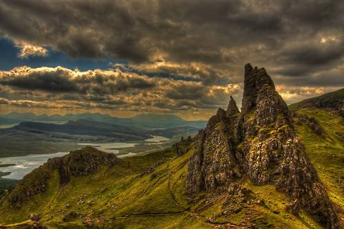 Clouds, Isle of Skye, Scotland