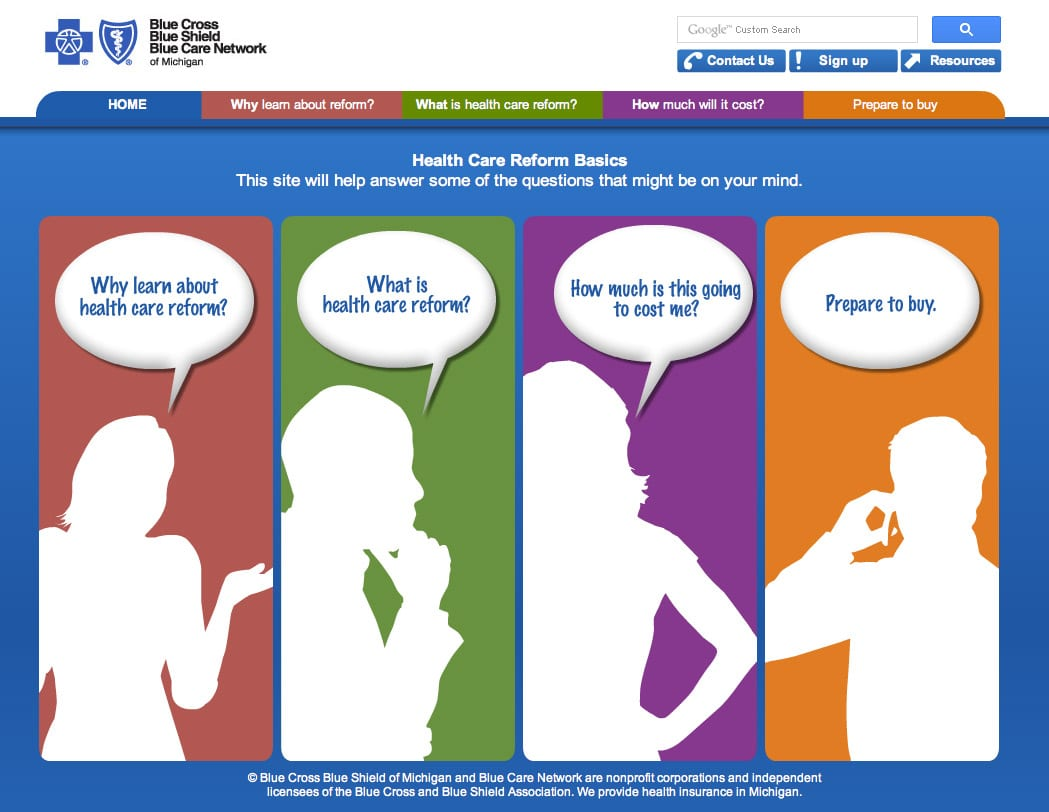 Bcbsm S Step By Step Guide Helps You Enroll In A Health