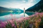 Lago Resia, Tirol, Italia, luna de miel