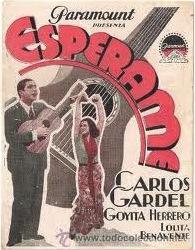 Espérame (1932, France) - Carlos Gardel