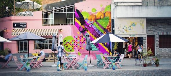 Palermo Buenos Aires Argentina Palermo Soho Palermo Viejo Mural Calle Gurruchaga