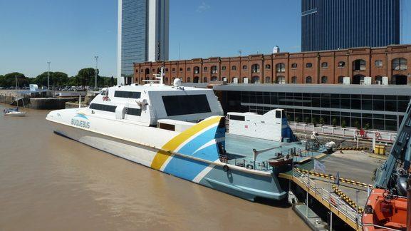 Como ir a Buenos Aires - Barco Buquebus Buenos Aires