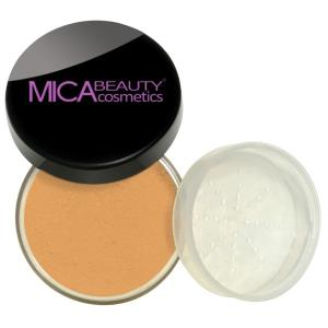 Natural Glow Loose Mineral Foundation Powder - Peached Amber