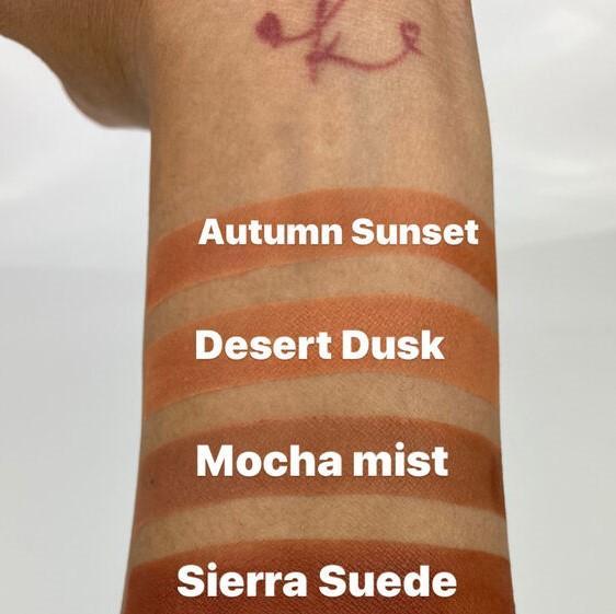 Loose Mineral Blush Powder - Autumn Sunset