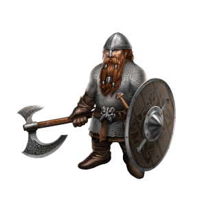 Concept art for Dwarf Warrior