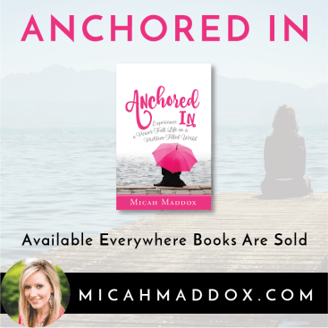 Anchored In Is Here, Along with a Giveaway!