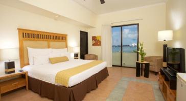 Cama habitacion NYX Hotel Cancun