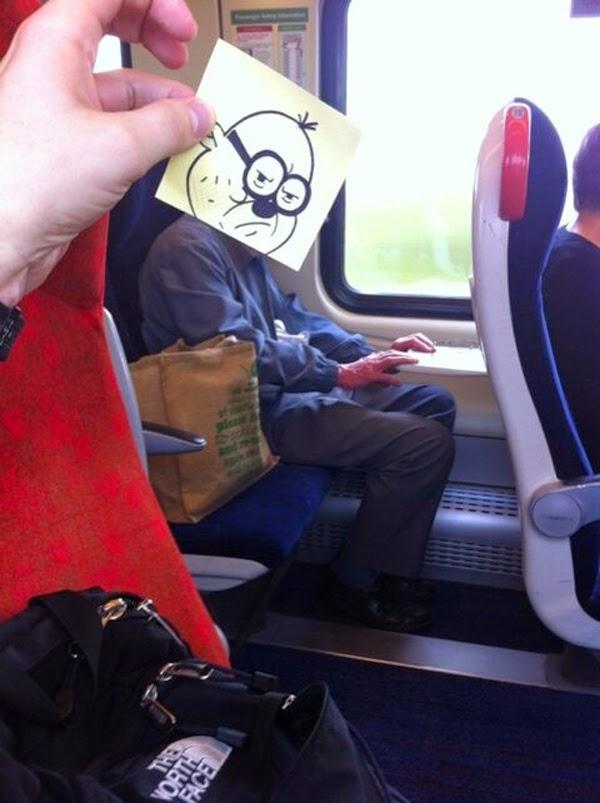 divertido viaje en tren