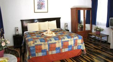 habitacion Eco-hotel El Rey del Caribe Cancún