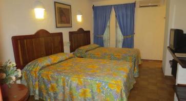 habitacion doble Eco-hotel El Rey del Caribe Cancún